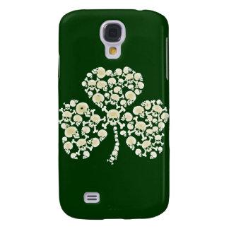 St Pats Irish Skulls Shamrock Samsung Galaxy S4 Cases