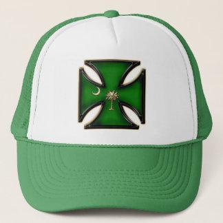 St Pat's SC Iron Cross Trucker Hat