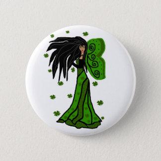 St. Patties fairy button