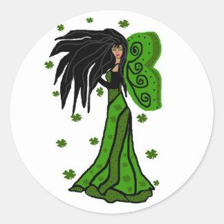 St. Patties fairy stickers