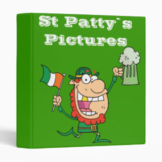 St Pattiy`s Binder
