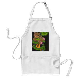 st patty day adult apron