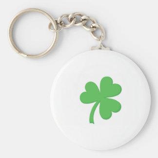 St. Patty Day Shamrock Keychain