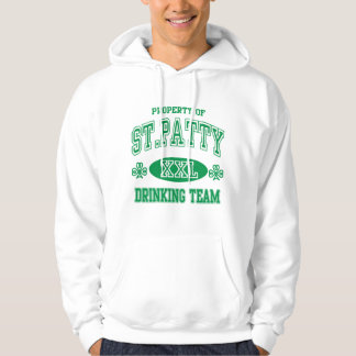 St Patty Drinking Team Hooded Sweatshirts
