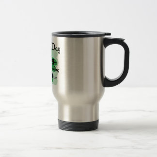 st patty looking 15 oz stainless steel travel mug