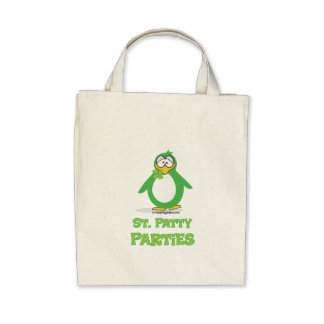 St. Patty Parties Canvas Bags