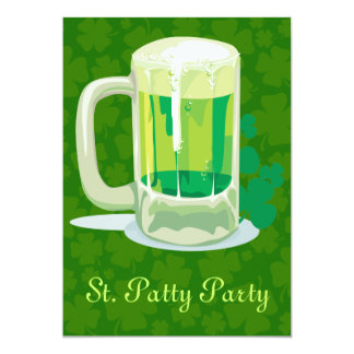 St. Patty Party Invitations! Card