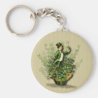St Patty s Day Gent- Irish Blessings- Keychain