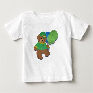 St Patty's Balloon Bear Tee Shirt