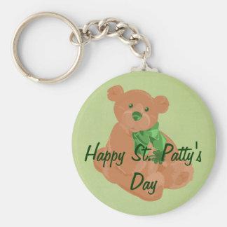 St. Patty's Day Bear Keychain