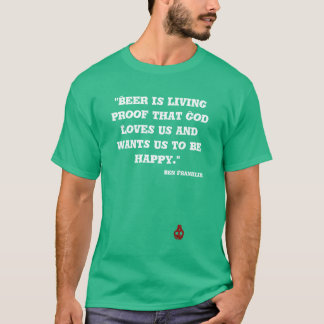 St. Patty's day beer quote t-shirt