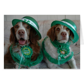ST PATTY'S DAY BRITTANYS - Customized Stationery Note Card