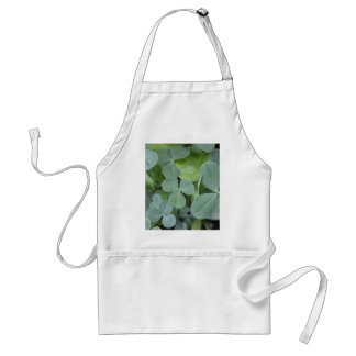St Pattys Day Clover Mix Adult Apron