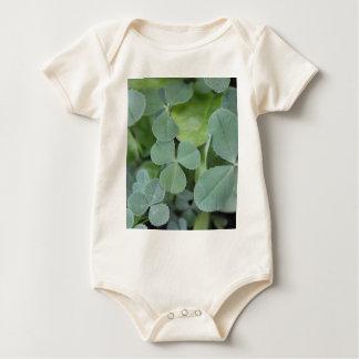 St Pattys Day Clover Mix Baby Bodysuit
