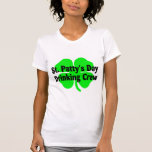 St Pattys Day Drinking Crew Tshirt