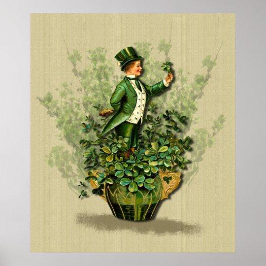 St. Patty's Day Gent- Irish Blessings Print