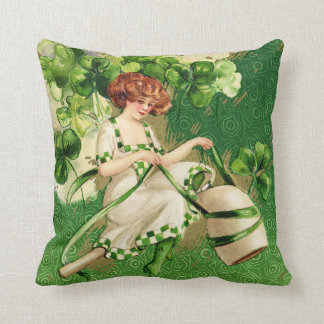 St. Patty's Day Girl Pillow