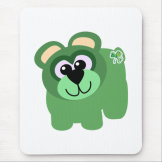 St. Pattys Day Goofkins bear Mouse Pad