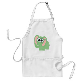 St. Pattys Day Goofkins elephant Aprons