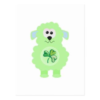 St. Pattys Day Goofkins lamb Postcard