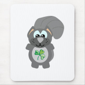 St. Pattys Day Goofkins squirrel Mouse Pad