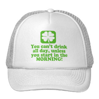 St Patty's Day Green Beer Trucker Hats