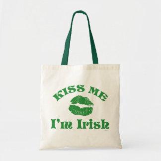 St. Patty's Day Kiss Me I'm Irish Canvas Bag