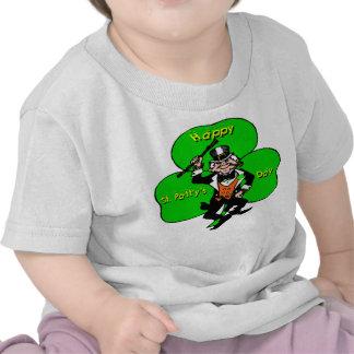 St Patty's Day Leprechaun Shamrock T Shirt