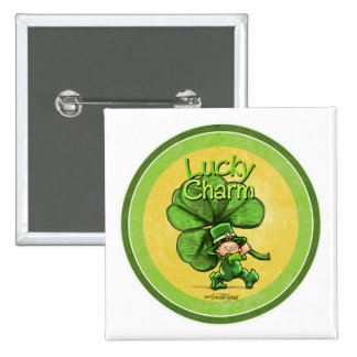 St Patty's day - Lucky Charm Buttons
