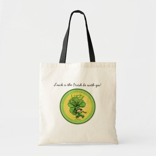 St Patty's day - Lucky Charm Tote Bag