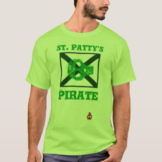 St. Patty's day Pirate flag t-shirt
