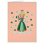 St. Patty's Day Princess Cards