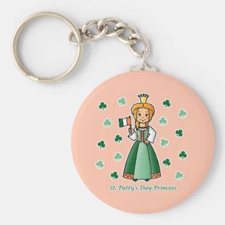 St. Patty's Day Princess Keychain