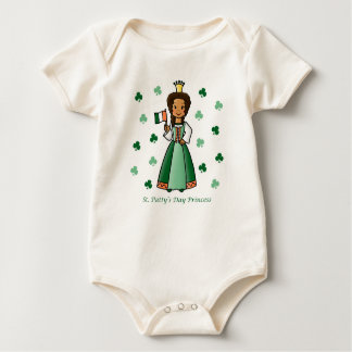 St. Patty's Day Princess Romper