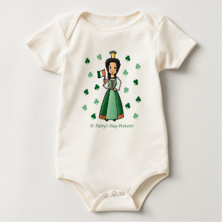 St. Patty's Day Princess Rompers