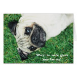 St. Patty's Day Pug Card
