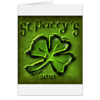 St Patty's Day Shamrock Products Greeting Card