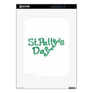 St. Pattys Day Skins For iPad 2