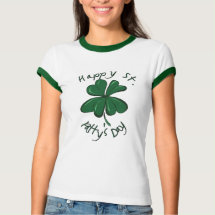 St Patty's Day T-shirt - A festive t-shirt to wear for St. Patrick's Day.