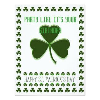 St Patty's Party Announcement