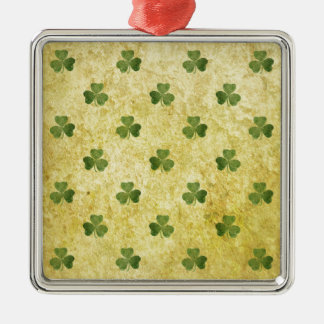 St Patty's Shamrock Metal Ornament