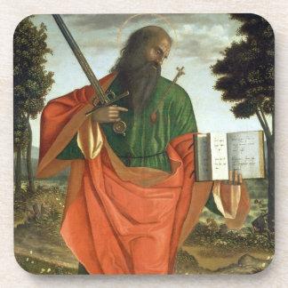 St. Paul, 1520 (oil on panel) Beverage Coaster