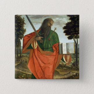 St. Paul, 1520 (oil on panel) Button