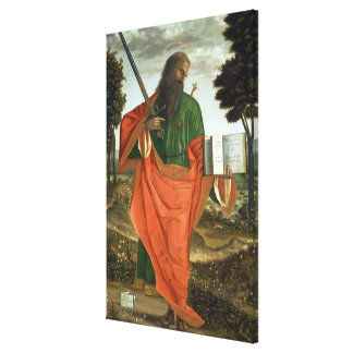 St. Paul, 1520 (oil on panel) Stretched Canvas Print