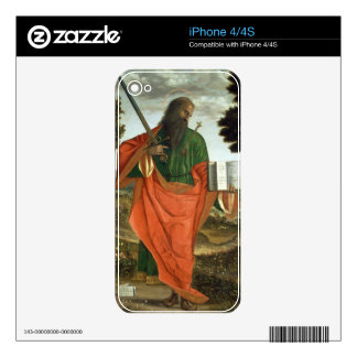 St. Paul, 1520 (oil on panel) iPhone 4 Decal