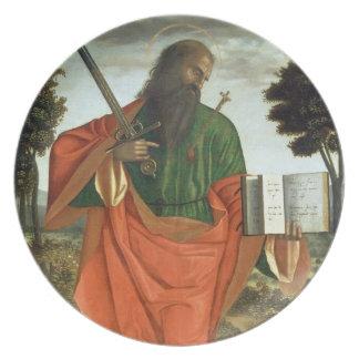 St. Paul, 1520 (oil on panel) Plate