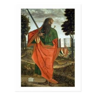 St. Paul, 1520 (oil on panel) Postcard
