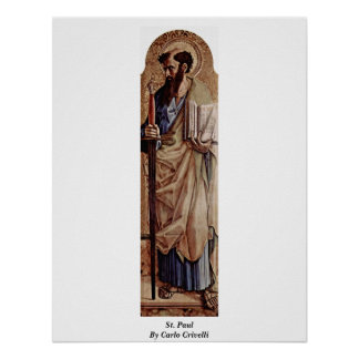 St. Paul By Carlo Crivelli Poster