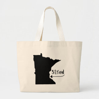 St.Paul, Home Large Tote Bag
