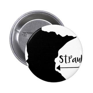 St.Paul, Home Pinback Button